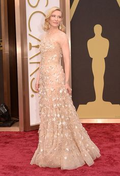 Cate Blanchett Oscars 2014 (dress by Armani)
