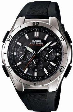 97b9cc4d908 Men s Wrist Watches - Casio WAVE CEPTOR Solar Multiband 6 Mens Watch Japan  Import -- For more information