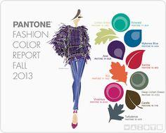 Recipiente Moda: Cartela de Cores Inverno 2014 - Pantone