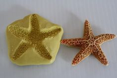 """Silicone 3"""" starfish Mold for cake decorating, chocolate, hard candy, polymer clay, resin, wax, soap, silicone mould on Etsy, $9.00"""
