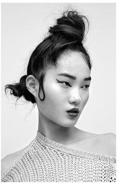 Photo Hyun Ji Shin by Hannah Scott Stevenson for i D Australia - Damenfrisuren Pelo Editorial, Beauty Editorial, Editorial Fashion, Winter Hairstyles, Bun Hairstyles, Beauty Shoot, Hair Beauty, Hair Inspo, Hair Inspiration
