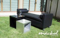 Sillones negros elegantes #Mackol #VisteTuEvento