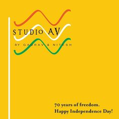 Let us come together to felicitate our glorious nation and feel proud to be Indian! Celebrate this Independence Day with @studioav_by_gauravnnitesh  #studioavbygauravnnitesh #independenceday #freedom #fighters #proud #nation #70years #indian #celebrate #indian #patriotism #jaihind