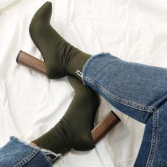 Public Desire boots  #sockboots