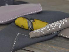 """MaiTai Collection single pochette for Hermes cashmere shawls/GMs (140 cm x 140 cm/ 55"""" x 55"""")"""