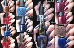 Betty Nails: OPI San Francisco - Collection Swatches & Review