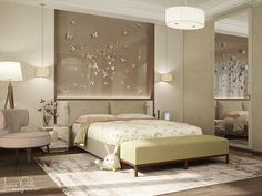 Roohome.com - If you do not know what is the suitable design to apply in your bedroom. Now we have the great solution for you. You may try applying thisluxury bedroom designs with modern and contemporary interior decor that looks so trendy and stylish. There are options for the luxury ...