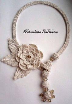 Luty Artes Crochet: Acessórios lindos em Crochê .