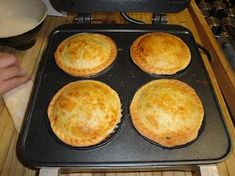 Hungry Hubby And Family: Home-made Pies, with a Breville pie maker. Neat!