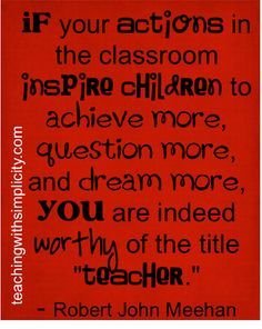 To be called teacher is such an honor! I'm so blessed I get to do what I love everyday!  Happy  Teacher Appreciation Week!! :)