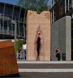 Vulva sculpture - can't find the source.