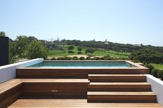 Popular Above Ground Pool Deck Ideas. This is just for you who has a Above Ground Pool in the house. Having a Above Ground Pool in a house is a great idea. Tag: a budget small yards Backyard Pool Designs, Small Backyard Pools, Small Pools, Swimming Pools Backyard, Swimming Pool Designs, Pool Landscaping, Pool Decks, Indoor Pools, Hot Tub Backyard