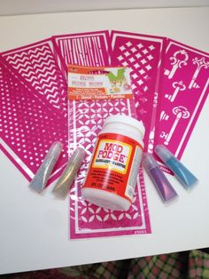 How to Use Mod Podge Peel & Stick Stencils | Plaid