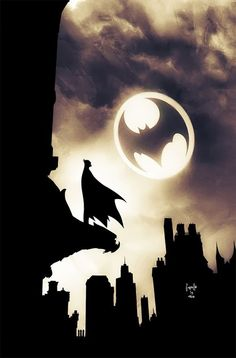 Detective Comics by Greg Capullo courtesy DC Comics - what a tribute to the Dark Knight and Batfans! Batgirl, Catwoman, Nightwing, Comic Books Art, Comic Art, Le Joker Batman, Superman, Batman Sign, Batman Poster