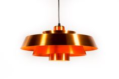 Vintage copper Fog & Mørup Nova pendant - Vintage Furniture Base