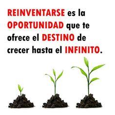 Frases / reinventarse / oportunidad
