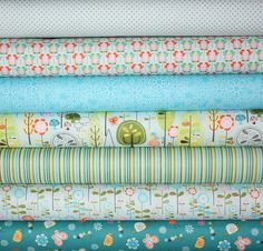 Happier - Riley Blake   cute nursery fabric
