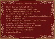 """Eine Bücherwelt: Blogtour """"Mitternachtsrot"""""""