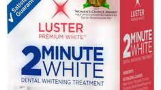Teeth whitening is a pain in the mouth. Or an expensive trip to the dentist. Or a total waste of time.  Thankfully, there's something that avoids all three of those landmines: Luster 2 Minute White ($10 at Face Values).  @mensjournal