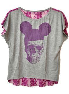 Mullet Caveira Mickey #mickey #skull #musthave #fashion #moda