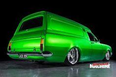 Holden HG Panelvan rear angle