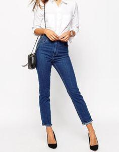 high waist slim mom jeans: http://asos.do/4tXLsJ