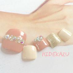 かわいいネイルを見つけたよ♪ #nailbook #nails #toenails #japanesenail #gorgeous