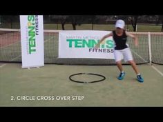 KING TENNIS SPEED & AGILITY DRILLS - GET FASTER ON THE TENNIS COURT - with T BAR M - YouTube
