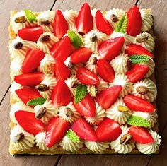 J'en reste baba: Fantastik fraises, pistaches de Christophe Michalak