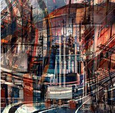 Urban photomontage by Paul Ratigan #art