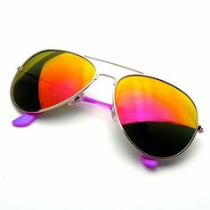 c55d0cc10d94 Sunglasses Aviator Vintage Mirror Lens New Mens Womens Fashion Frame Retro  EEAvi#Mirror#Lens