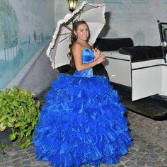 #quinceañera #quince #dress #vestidos #blue