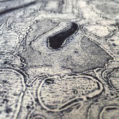 Encaustic Collagraph plate
