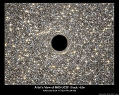 Supermassive Black Hole Discovered Inside Tiny Dwarf Galaxy - Talk about big things coming in little packages! Astronomers using data from the Hubble Space Telescope say they've discovered a ginormous black hole within one of the tiniest galaxies known to exist.