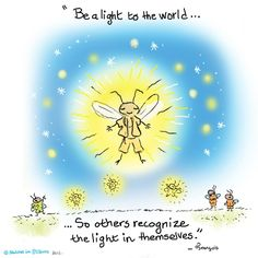 Be a light to the world...