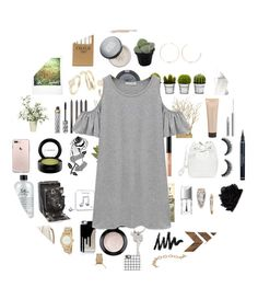 """""""first fashion set in a long time"""" by cwilkween ❤ liked on Polyvore featuring Jane Iredale, Alison & Ivy, Casetify, Skagen, Jayson Home, Kiehl's, Anita Ko, Maybelline, Dana Rebecca Designs and Cinema Secrets"""