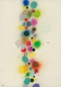 David Batchelor - Pillar drawing 2007  Pencil, spray paint and gouache on squared paper  420 x 295 mm Graphic Design Inspiration, Creative Inspiration, Illustrations, Illustration Art, Circle Art, Pics Art, Altered Art, Painting & Drawing, Decoration
