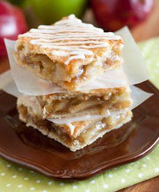 Enjoy apple pie year-round with this recipe for Addictive Apple Pie Bars! Great for sharing... or for keeping all to yourself  :)