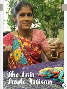 Fair Trade Gifts: Indian Artisan Offers Behind-The-Scenes Look At Craft Huffington Post article about one of the amazing artisans from St Mary's :) #FairTrade #India
