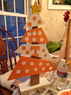 Tennessee vols Christmas tree
