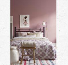Einrichten Und Wohnen, Zuhause, Bed U0026 Bath, Haus Und Familie,  Innenarchitektur, Schlafzimmerdeko, Schlafzimmer, Bemalte Häuser,  Mädchenzimmer, Malen, Rosa ...