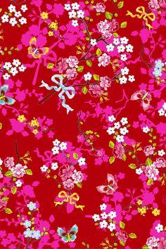 PiP Chinese Rose Rood behang | Traditional | Behang | PiP Studio