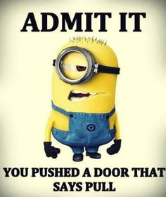 Funny Memes Hilarious Minions Ideas For 2019 Minion Humour, Funny Minion Memes, Minions Quotes, Funny Texts, Hilarious Jokes, Despicable Me Memes, Funny Humor, Image Minions, Minions Images
