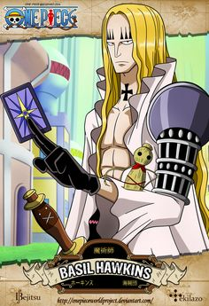One Piece - Basil Hawkins by OnePieceWorldProject on deviantART