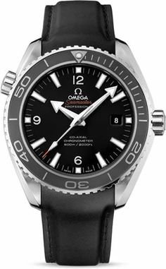 Planet Ocean 600M Omega Co-Axial 45.5mm 232.32.46.21.01.003.The OMEGA Seamaster Planet Ocean 600M is water resistant to 600 metres / 2000 feet / 60 bar, and has a helium-escape valve. The OMEGA Co-Axial calibre 8500 at the heart of this certified chronometer timepiece can be seen through the transparent caseback.