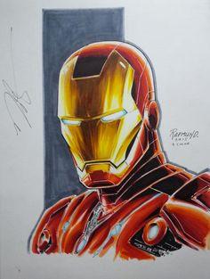 Iron Man by Norm Rapmund