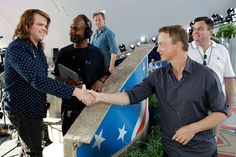 Gary Sinise Photos - American Idol season 13 winner Caleb Johnson (L) is introduced to host Gary Sinise at the 25th National Memorial Day Concert rehearsals at U.S. Capital, West Lawn on May 24, 2014 in Washington, DC. - 25th National Memorial Day Concert Rehearsals