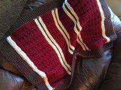 Mountain Cabin Loom Baby Blanket Pattern