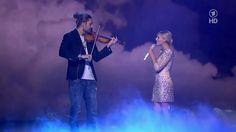 David Garrett & Helene Fischer - Ave Maria (Die Helene Fischer Show 2012) Heaven....