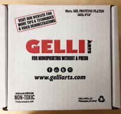 """NEW! Gelli® Student Plate 5""""x5"""" - Classroom Kit"""